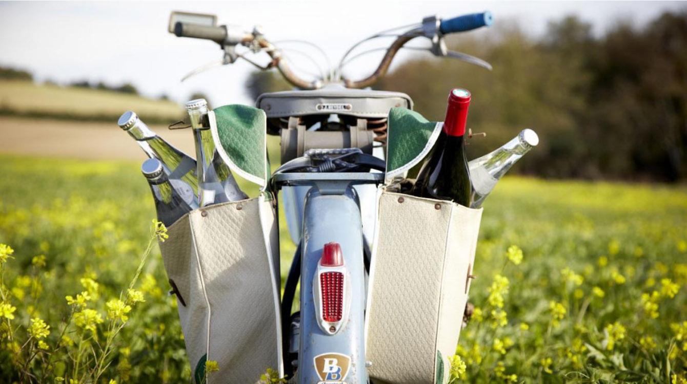 Du vélo, du vin et de la détente