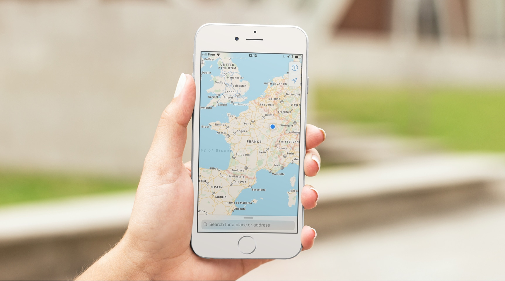 Follow the bicycle routes on your smartphone